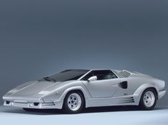 Lamborghini Countach 25th Anniversary 1989, a unprecedented version to have a good time Lamborghini's twenty fifth anniversary, was offered in its newest evolution in 1988.