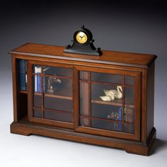 Have to have it. Butler Bookcase Console - Antique Cherry $719.00
