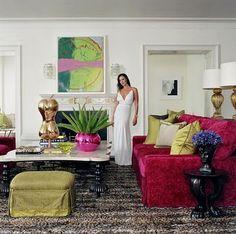 martin lawrence bullard designer/images | The velvet sofas looked darker on TV but I would love a velvet sofa. I ...