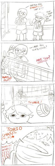 #Haikyuu comic - You're so so so f***ed, Kageyama...