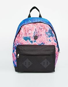 Hype Backpack in Floral Dip Dye