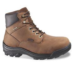 Wolverine Durbin Men's Waterproof 6-in. Work Boots, Size: 9 Xw, Brown