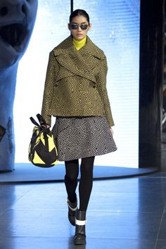 On the catwalk at Kenzo Autumn-Winter 2014 Women Fashion Show #PFW #RTW #AW14 #Kenzo #LVMH via www.kenzo.com