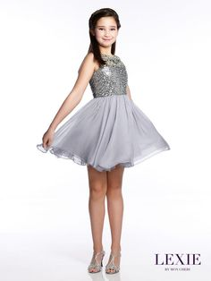 Lexie by Mon Cheri | Preteen | Party Dress Express | 657 Quarry Street | Fall River, MA | Order online or by phone | partydressexpress.com | #preteen #dresses