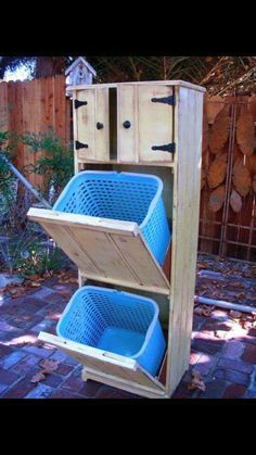Need to find someone who can help me make this amazing laundry sorter