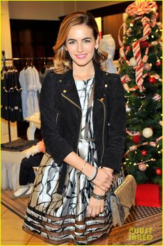 Camilla Belle Celebrate Christmas with Brooks Brothers & St. Jude Children's Hospital