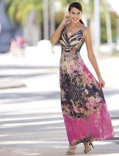 royal rose maxi dress