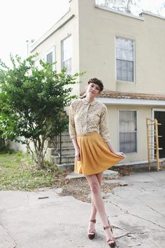 other people's property vintage fashion editorial photography florida