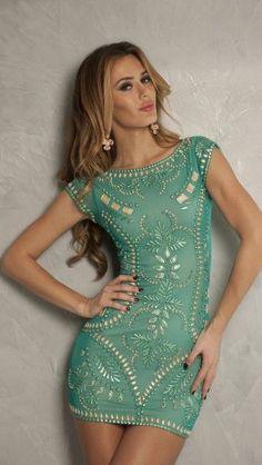 Embroidered mini dress I need this Pretty Dresses, Sexy Dresses, Beautiful Dresses, Short Dresses, Gorgeous Dress, Prom Dresses, Dress Prom, Party Dress, Bandage Dresses