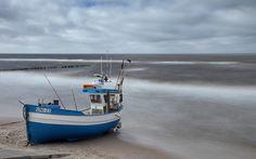 small blue boat by Anna Klinkosz on 500px