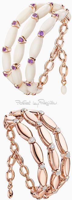 De Grisogono ♥ I am very thankful for them ♥ Gems Jewelry, Jewelry Art, Jewelery, Fine Jewelry, Fashion Jewelry, Jewelry Design, Diamond Bracelets, Jewelry Bracelets, Modern Jewelry