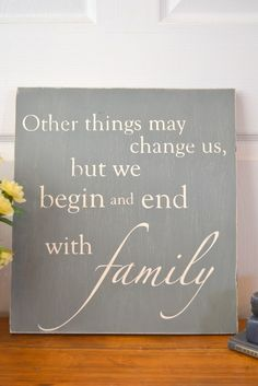 Robin, Maybe you could but your saying on something like this to hang over the stairs? http://itz-my.com