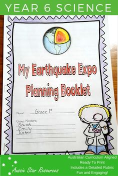 Primary Teaching, Teaching Resources, National Curriculum, 6th Grade Science, Year 6, Australian Curriculum, Science Ideas, Volcanoes, Earth Science