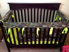 MoSSY oaK aNY CaMo oF YouR CHoiCe CRiB SeT WiTH by ITBURNSBABY, $200.00