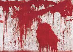Hermann Nitsch, Splatter Painting, 1986
