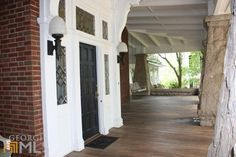 Front Porch on a c.1890 Craftsman Bungalow Home in LaGrange, GA