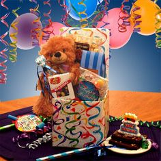 Send Birthday Baskets to your kids and friends from GWT Gift Baskets at feasible cost. Our wide selection of birthday gift themes allows you to find the perfect basket based on someone's age, their hobbies and interests.