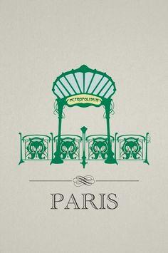 paris metro | luis infante. (paris)