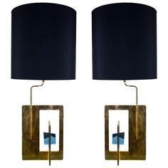 Pair of Lamps by Angelo Brotto | From a unique collection of antique and modern table lamps at https://www.1stdibs.com/furniture/lighting/table-lamps/