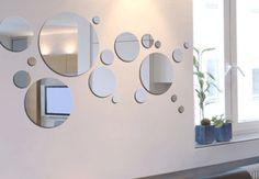 Mirrors – Home Decor : miroir -Read More – Decor, House Design, Room Design, Living Room Colors, Mirror Design Wall, Home Decor, Home Deco, Mirror Decor, Interior Design Living Room