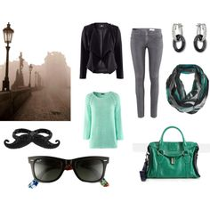 """Visiting Prague"" by teaandfashion on Polyvore"
