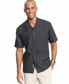 Cubavera Shirt, Short Sleeved Guayabera Shirt @ Macy's