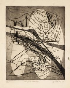 Stanley William Hayter - Myth of Creation, 1940