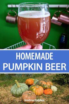 Pumpkin Beer Brew your own homemade pumpkin beer.Brew your own homemade pumpkin beer. Beer Brewing Kits, Brewing Recipes, Homebrew Recipes, Beer Recipes, Coffee Recipes, Homemade Wine Recipes, Homemade Alcohol, Homemade Beer, Pumpkin Wine