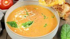 Simple Russian Soup - Valentina's Corner Shrimp Taco Recipes, Chicken Wrap Recipes, Creamy Vegetable Soups, Vegetable Soup Recipes, Wing Recipes, Sauce Recipes, Cooking Recipes, Baked Chicken Wings, Chicken Thighs