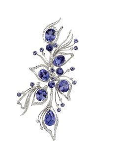tanzanite jewelry By Ruth Grieco