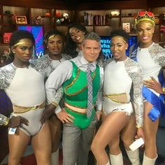 The Prancing Elites (on Andy Cohen) /Oxygen/Bravo reality show. Luv it