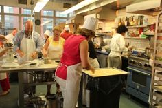 Recreational classes at the Institute of Culinary Education in NYC