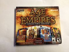 AGE OF EMPIRES COLLECTORS EDITION(NEW & SEALED)  FREE SHIP