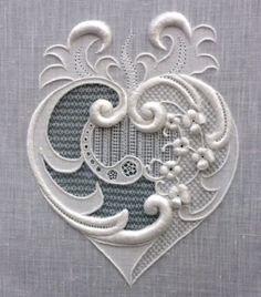 Stunning, Fine Whitework, by Royal School of Needlework Diploma student Lianne Hart