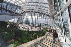 The Walkie Talkie Sky Garden, London Days Out In London, London Night, Perth Western Australia, London Architecture, Fallen London, Sky Garden, London Places, Rooftop Garden, Travel Pictures