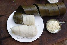 Idlis Steamed In Screw Pine Leaves (Moode) - KonkaniFoodRecipes.com