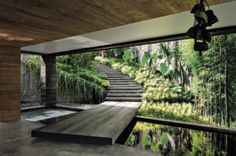 Modern Architecture Discover MadAbout Interior Design - Into the wild: Villa Chameleon in Bali designed. Into the wild: Villa Chameleon in Bali designed by architect Valentina Auditro founder of Word of Mouth studio. Architecture Design, Landscape Architecture, Landscape Design, Home Interior Design, Exterior Design, Interior And Exterior, Interior Garden, House Goals, Modern House Design