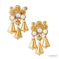 The Temple Bells Earrings - Arnav