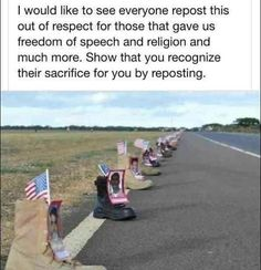 PLEASE SHARE~ I would like to see everyone repost this out of respect for those that gave us freedom of speech and religion and much more. Show that you recognize their sacrifice for you by reposting. My Champion, Gives Me Hope, Sad Stories, Touching Stories, Awesome Stories, Sweet Stories, All That Matters, Real Hero, Freedom Of Speech