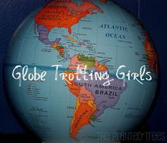The Planted Trees: Globe-Trotting Girls: Have Books, Will Travel!