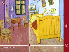 Touch Van Gogh er gratis. Skal man arbejde med Van Gogh skal man ind og finde ud af en masse om hans billeder, så er denne app super. Smart lavet med det hele i en app.