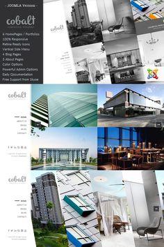 Cobalt - Responsive Architect & Creatives Joomla Template #92993