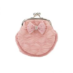 Stunning cosmetic bag in pink with bow and little bling by Lisbeth Dahl Copenhagen Spring/Summer 13. #LisbethDahlCph #Stunning #Bow #Bling #Pink