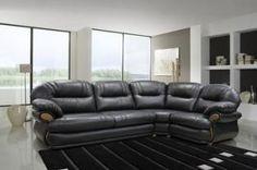 Угловой кожаный диван Орлеан