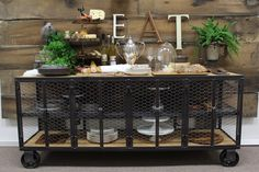 Buffet Table Cabinet