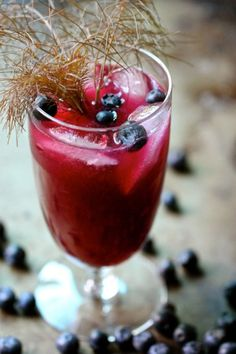 Blueberry Fennel Party Drink
