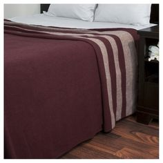 Australian Wool Blanket (Twin) Burgundy - Yorkshire Home® : Target