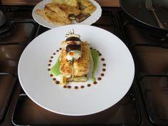 JHS  /  Pollo  patate  melenzana piselli e  olive''( salsa  ^ _^ tapenade)'' Gino D'Aquino
