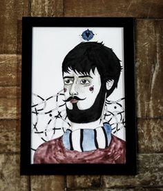 Exposição Barbudos - Luiza Guedes