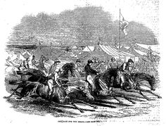 GOING TO THE DERBY . The Penny Illustrated Paper (London, England), Saturday, June 07, 1862